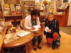 Lesung Utopien mit der Autorin, Kerstin Schweighöfer, im Buchkultur Opitz